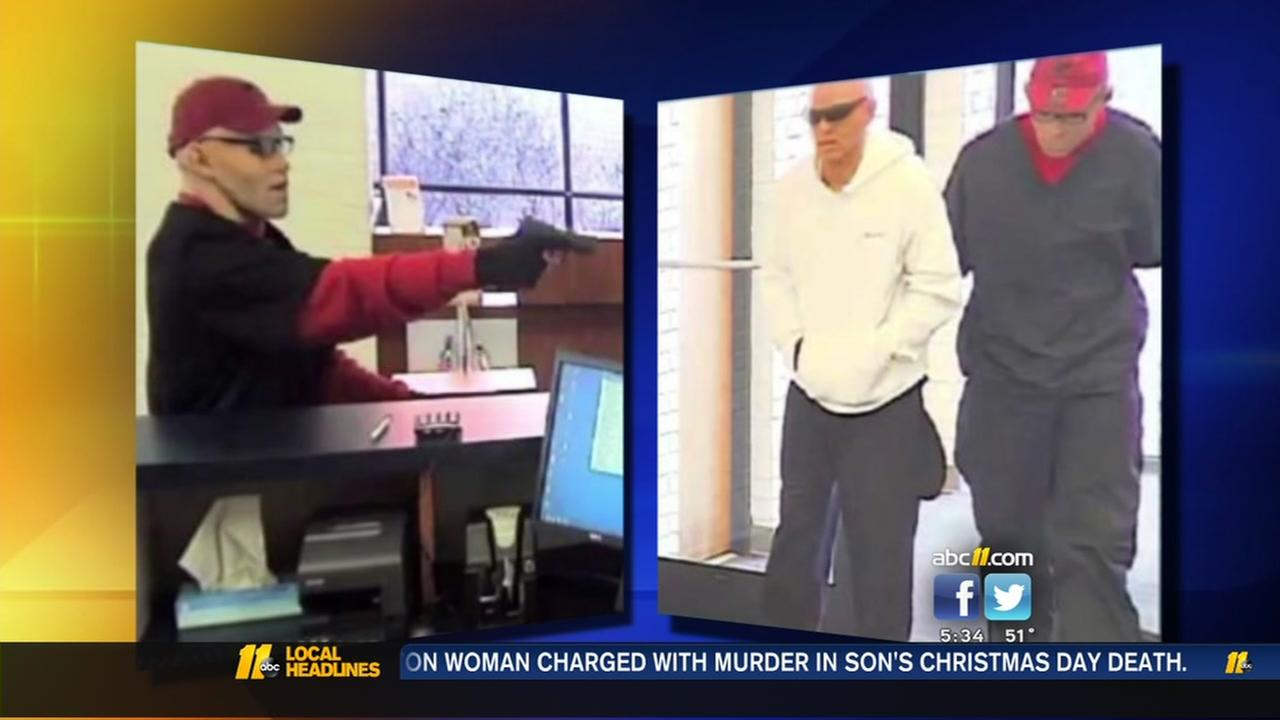 Search enters day 2 for Lumberton bank robbery suspects