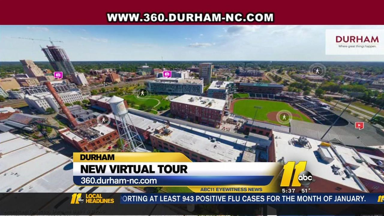 Virtual Tour Of Downtown Durham Gives Unique Look At The Bull City