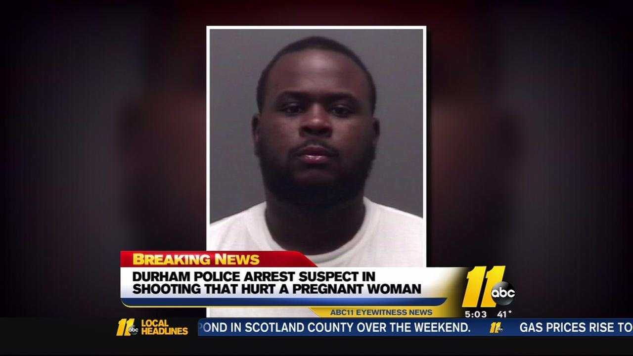 Man arrested in Durham double shooting