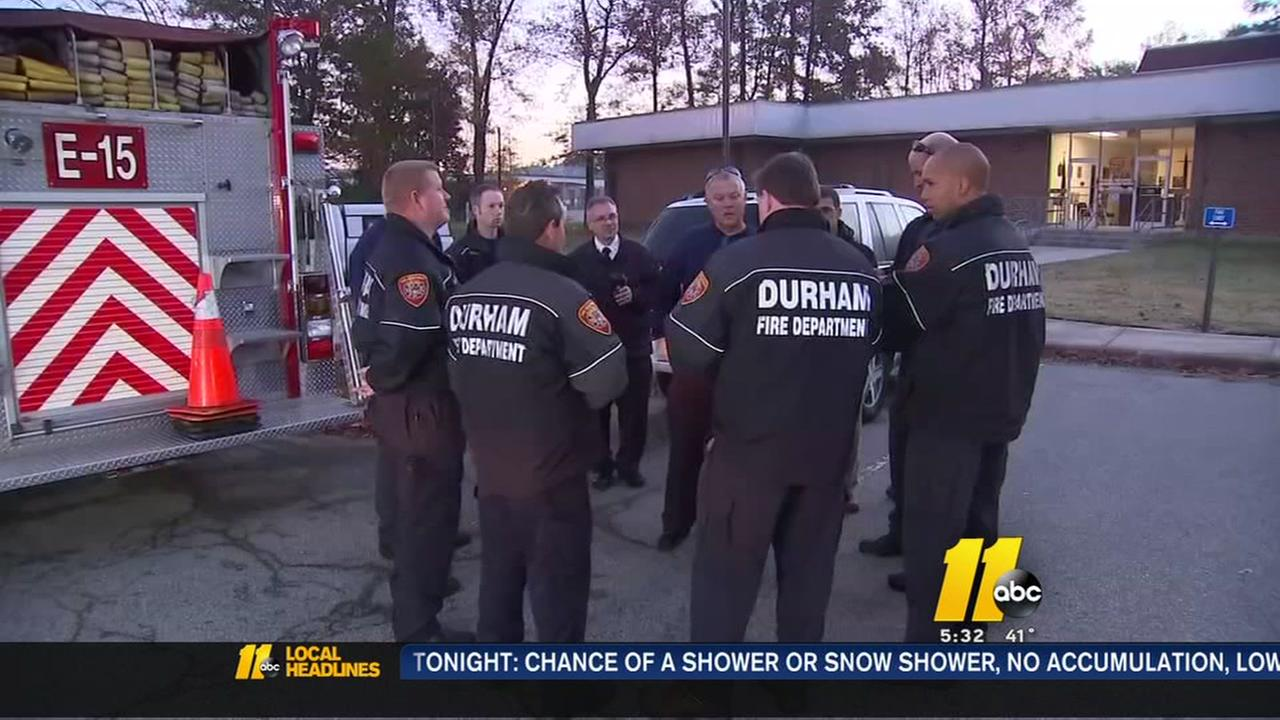 Durham fire department merger talks underway