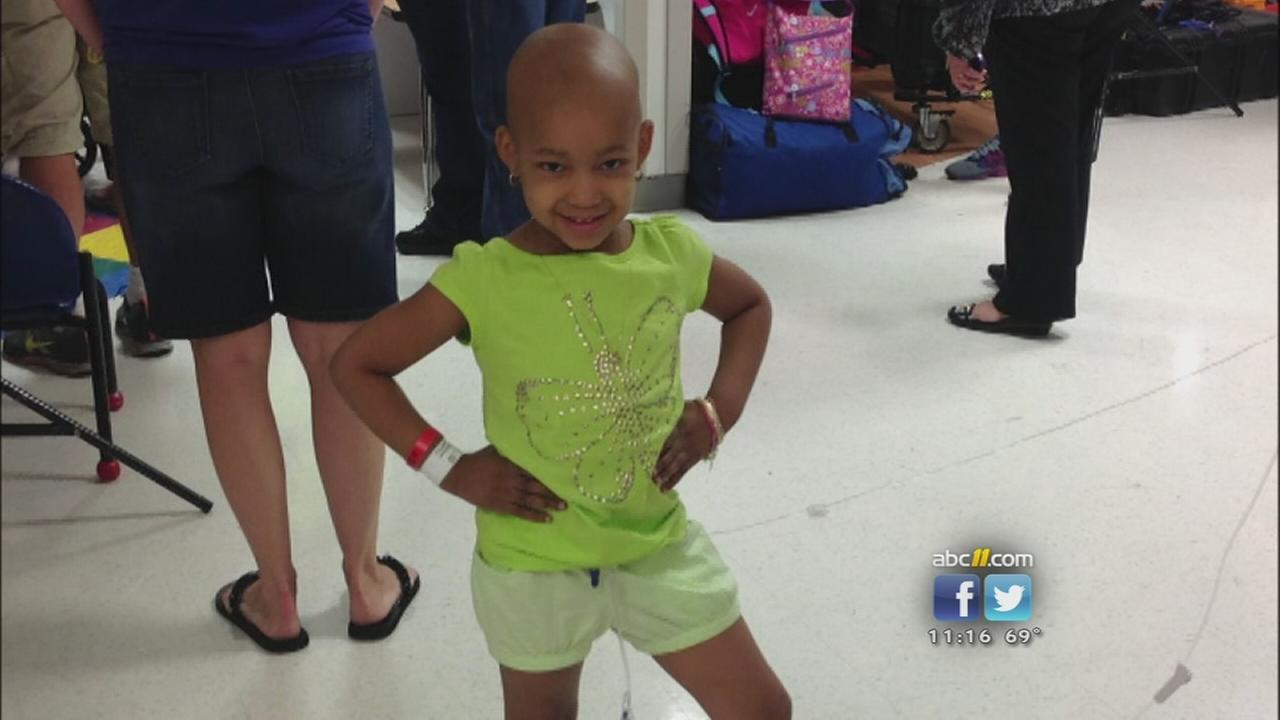 Local womans connection to NFL players daughter battling cancer