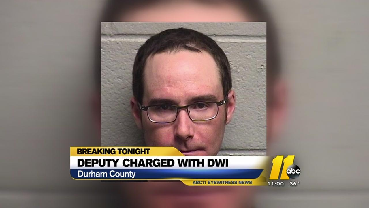 Durham County deputy charged with DWI