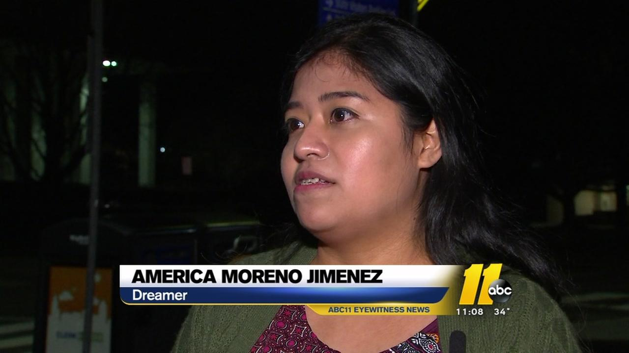 Wake County schoolteacher, Dreamer at SOTU