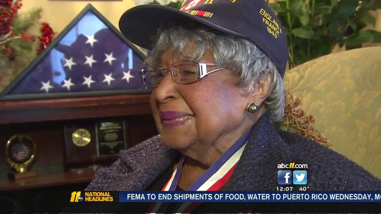 Raleigh Army veteran celebrates 100th birthday