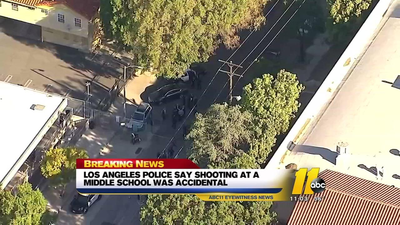 LAPD says school shooting was accidental