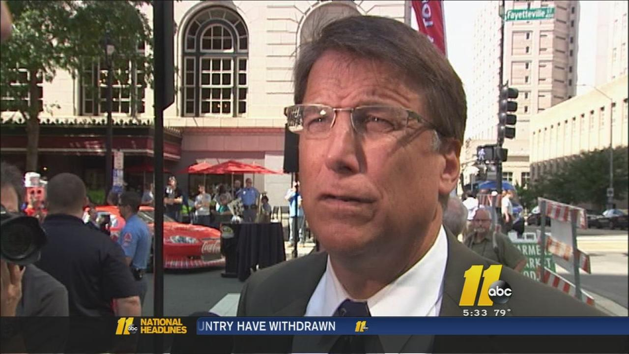 Gov. Pat McCrory talks Medicaid expansion, coal ash bill