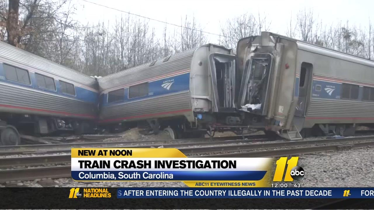 investigators south carolina amtrak train crash that killed 2