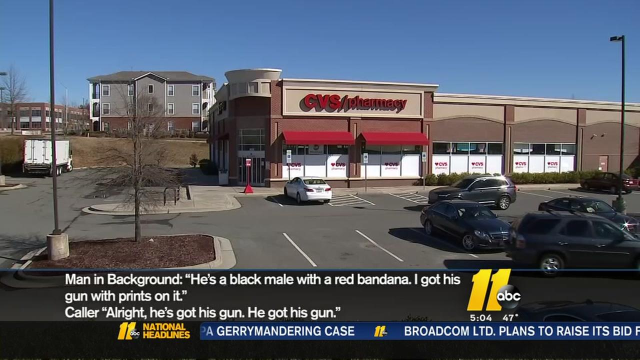CVS manager thwarts robbery