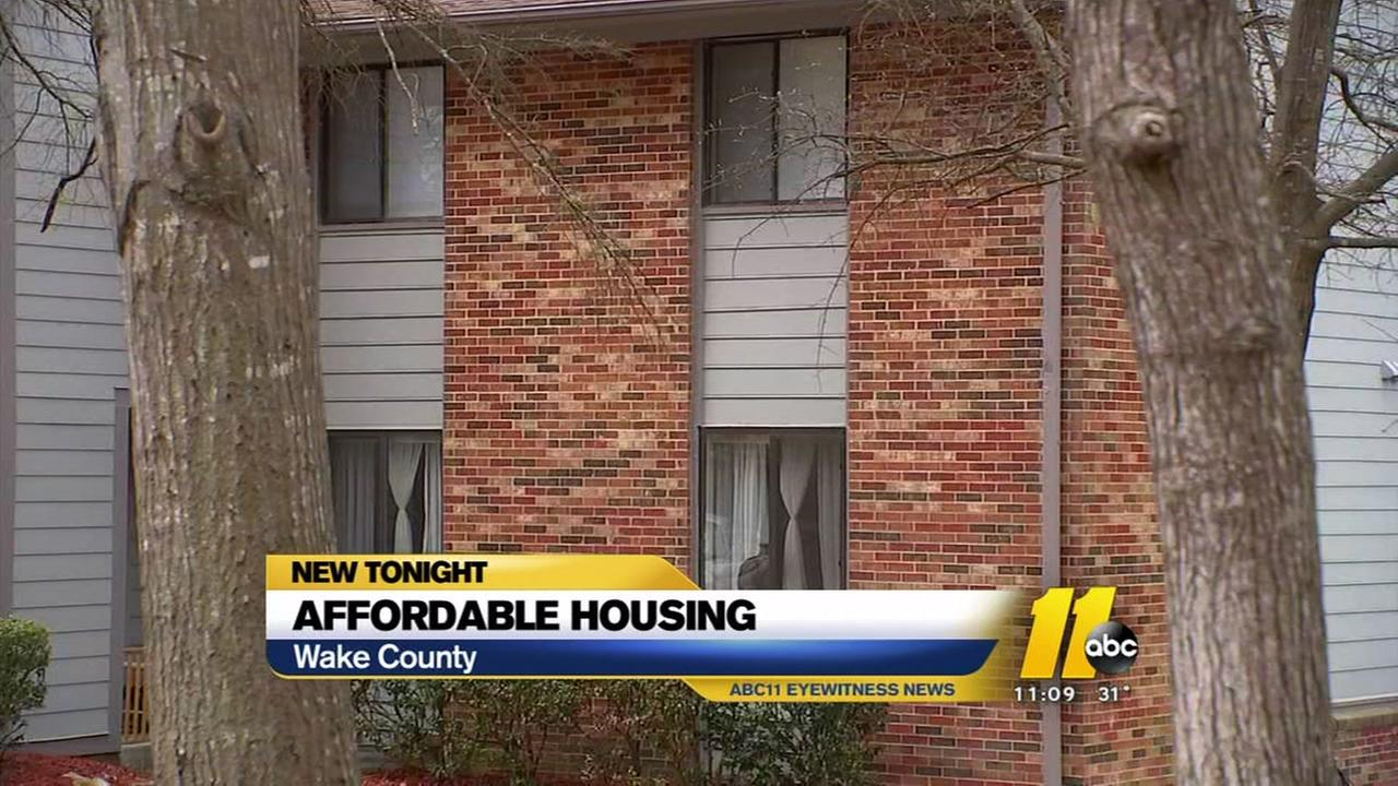 Wake County addresses affordable housing