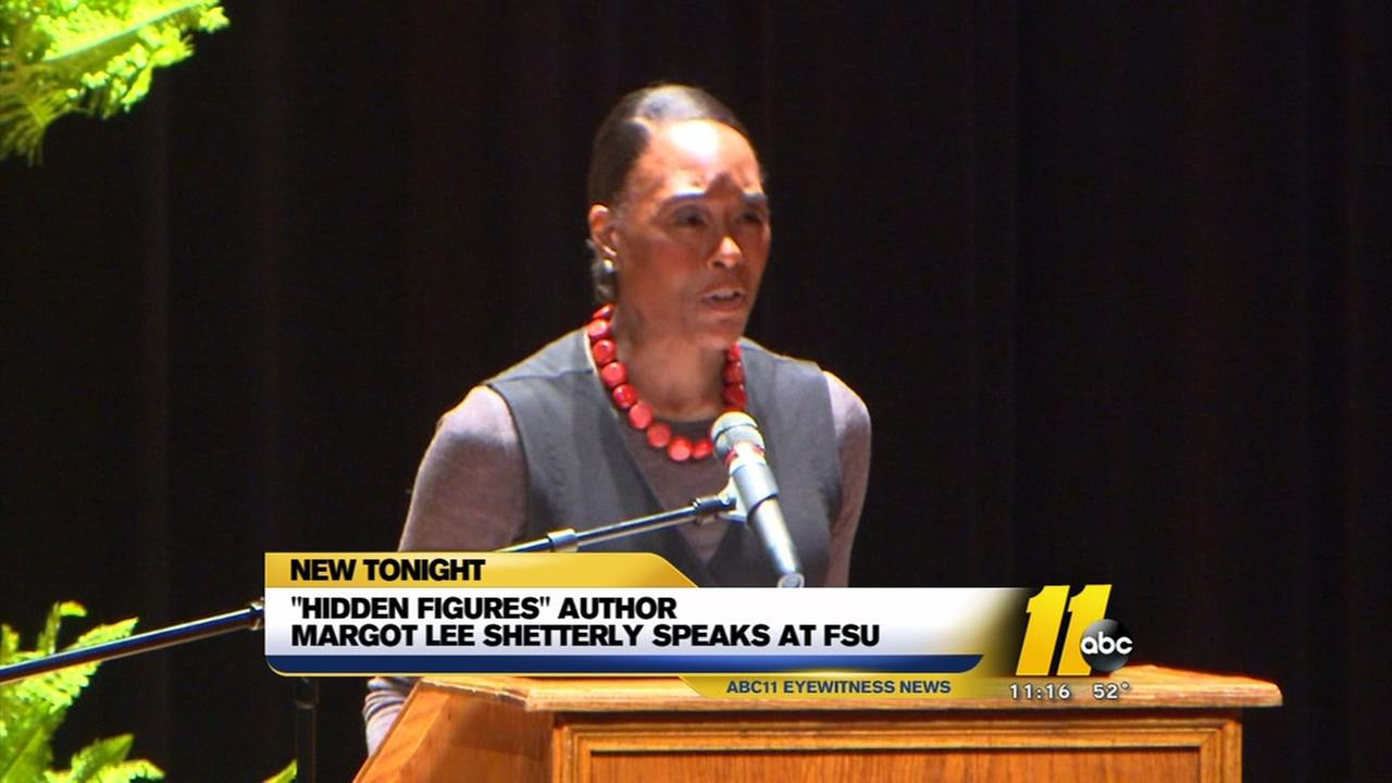 Hidden Figures author speaks at Fayetteville State