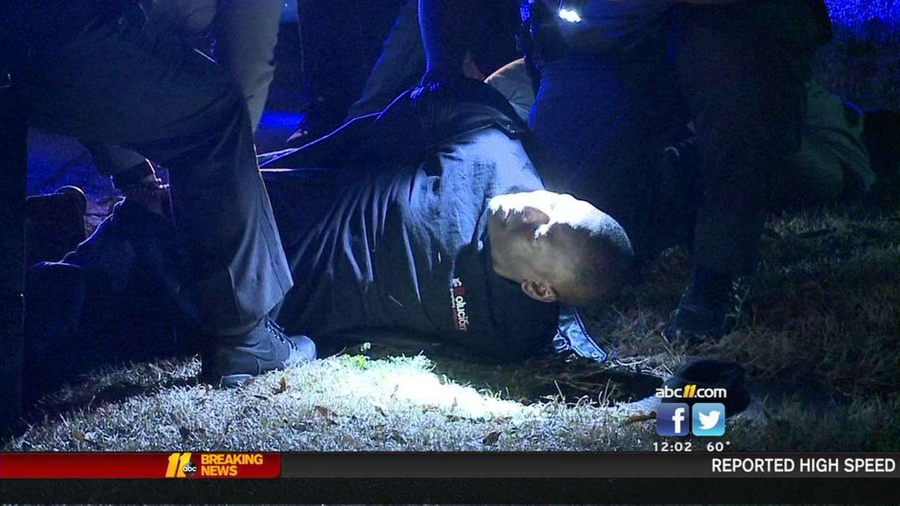 Driver leads deputies on high-speed chase through Durham