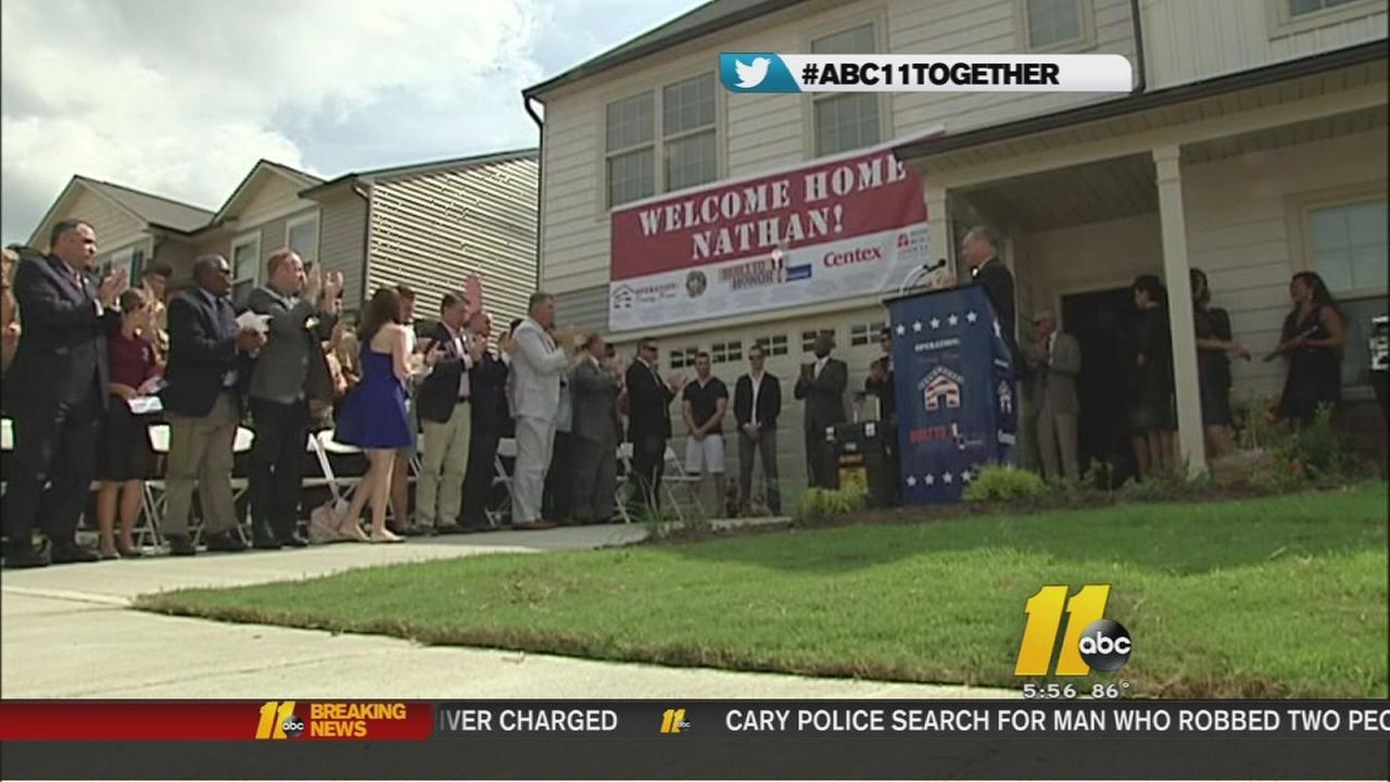 War veteran receives free house