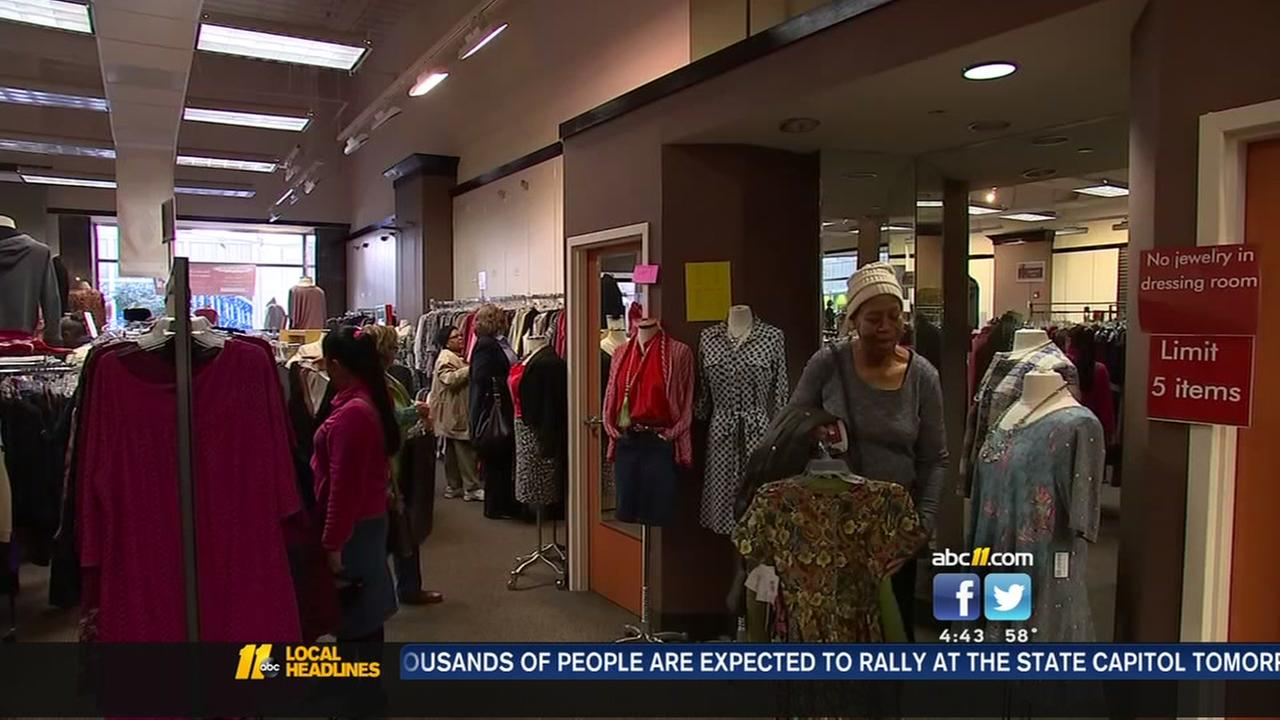 Dress For Success holds winter pop-up sale