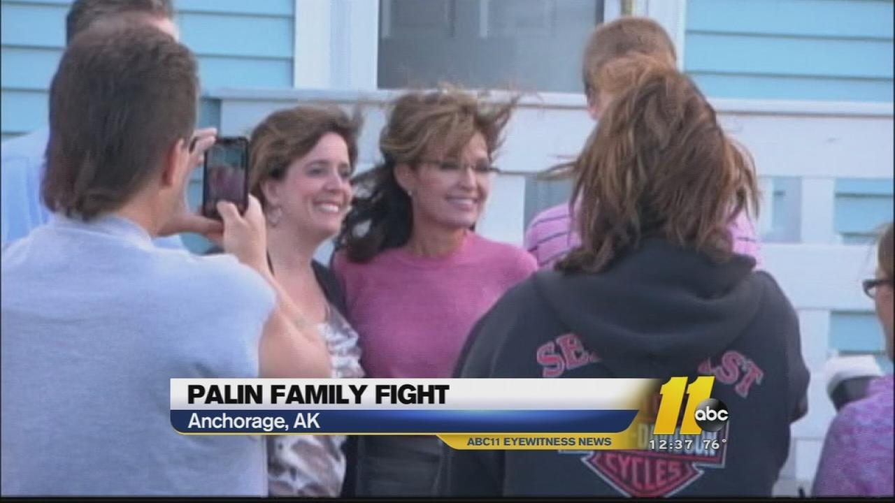 Reports: Sarah Palin and family involved in fight