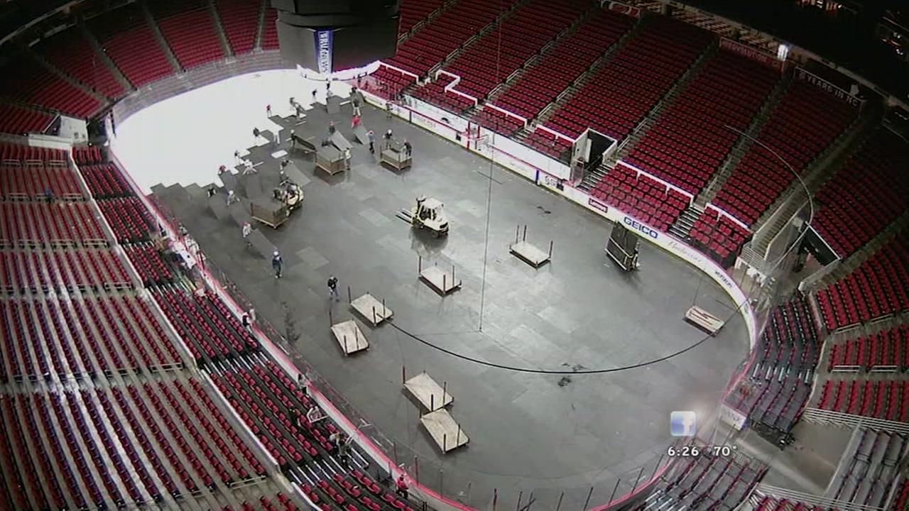 The magic behind the transformation at PNC Arena