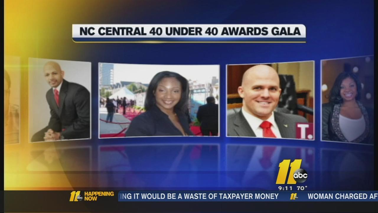 NCCU honors 40 Under 40