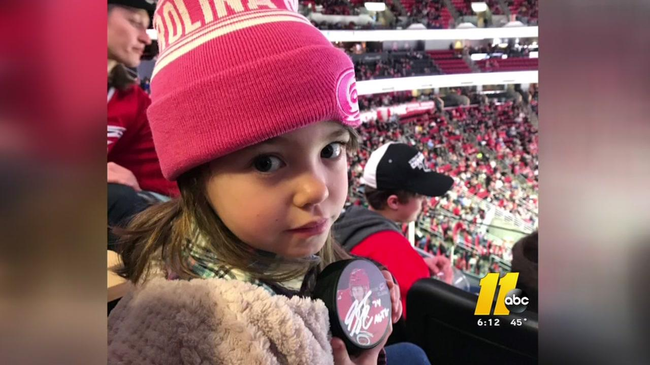 Carolina Hurricanes treat critically ill children to suite tickets