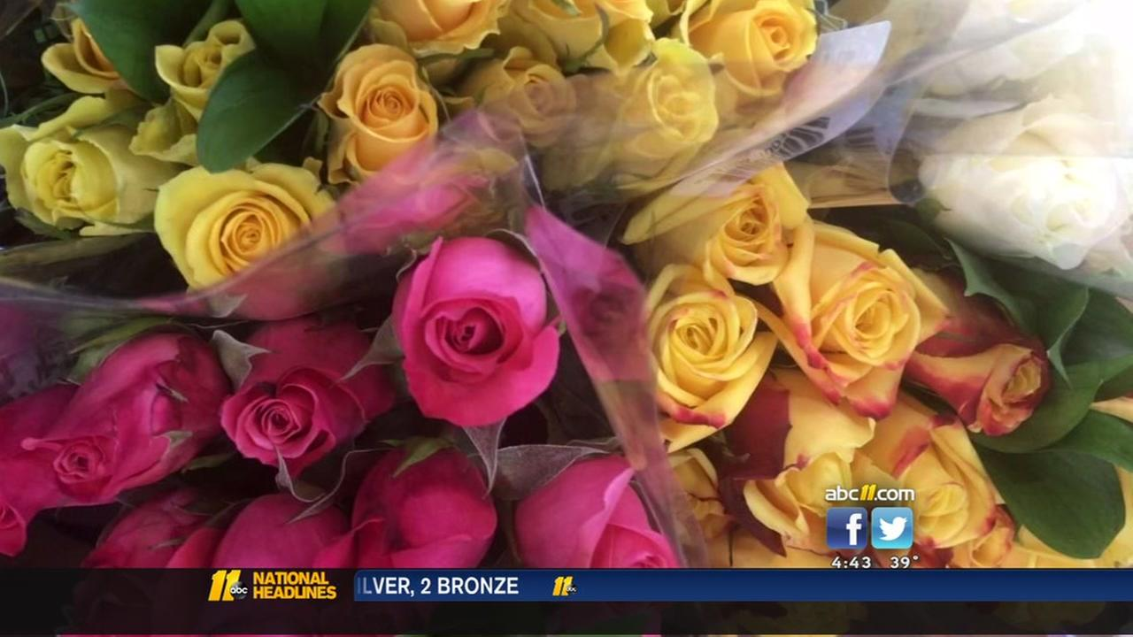 ABC11 compares the price of a dozen roses