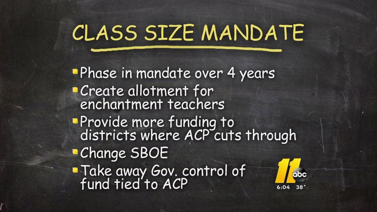 Will Gov. Cooper sign class-size bill