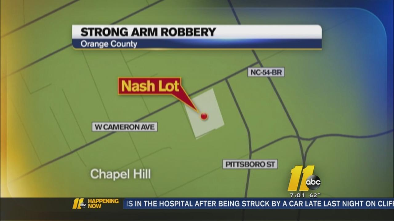 3 wanted in strong-arm robbery on UNC campus