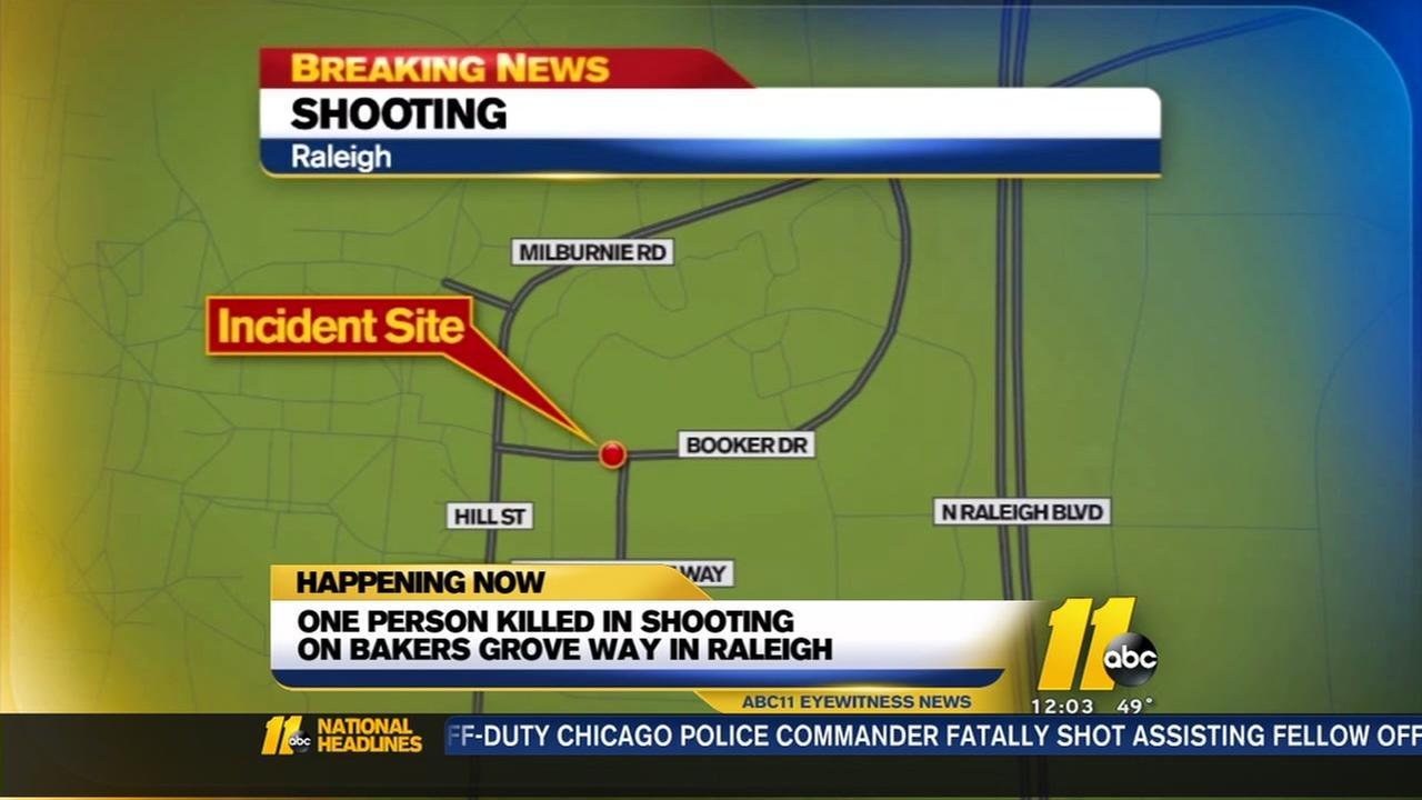Police identify man found shot to death in Raleigh
