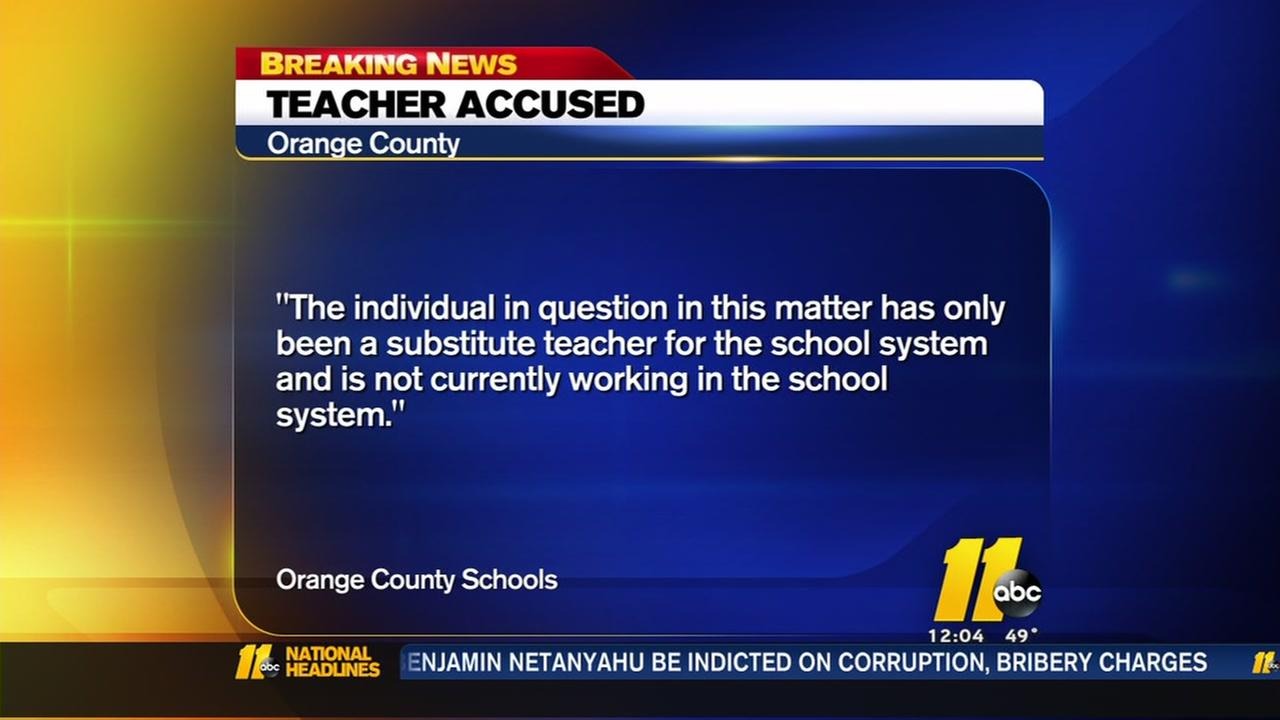 Orange County teacher under investigation after allegedly sending naked pictures to current, former students