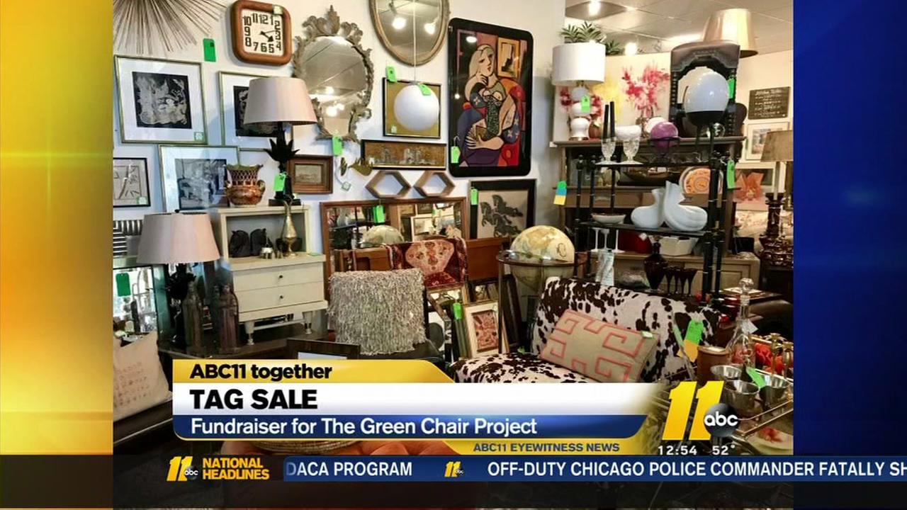 The Green Chair Project helping those in need