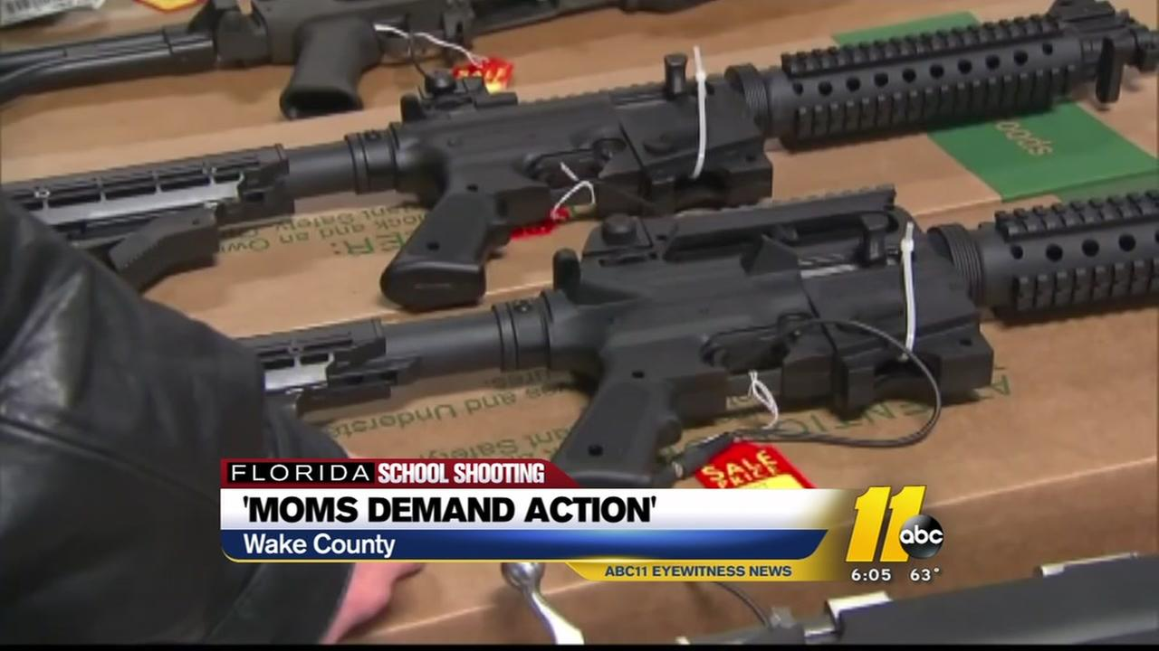 Wake County moms demand action after school tragedy