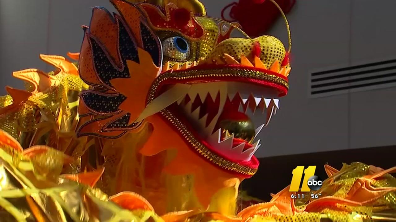 Chinese New Year celebration brings thousands to Chapel Hill