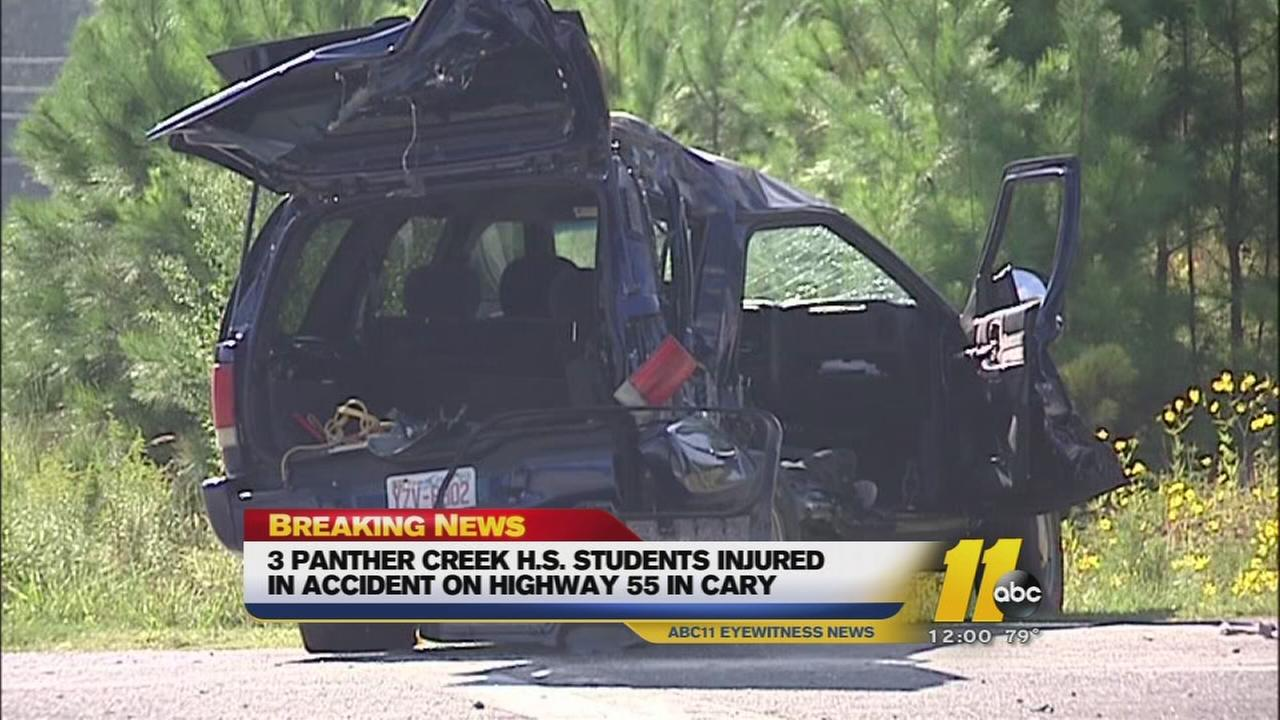 students involved in serious crash