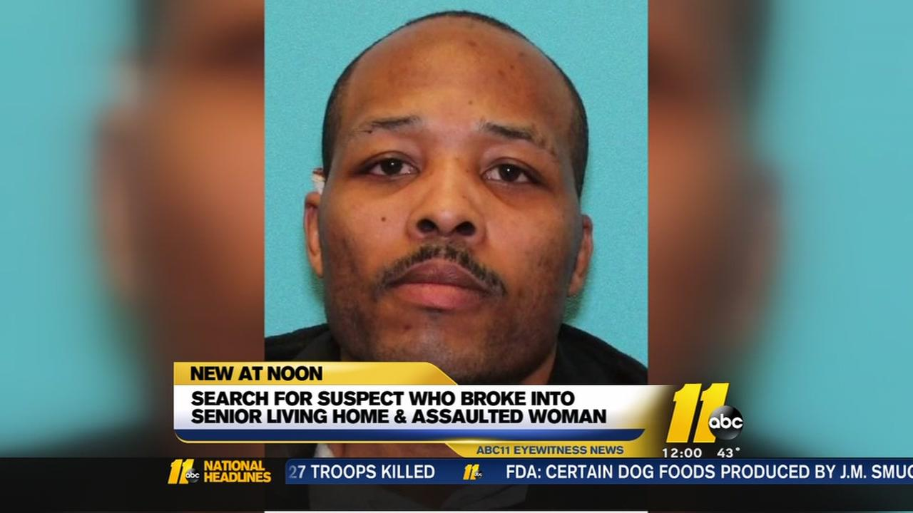 Cary police seek suspect wanted for burglary, sexual assault of elderly woman