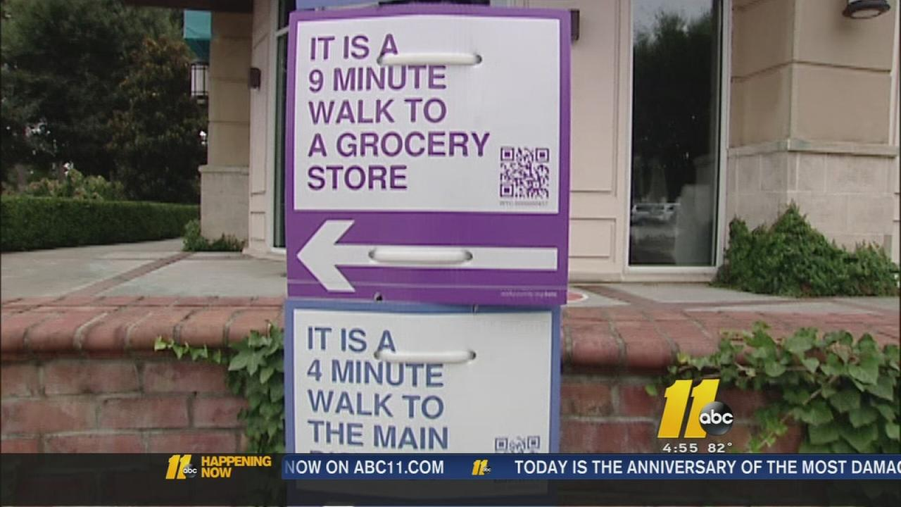 New signs going up around Raleigh