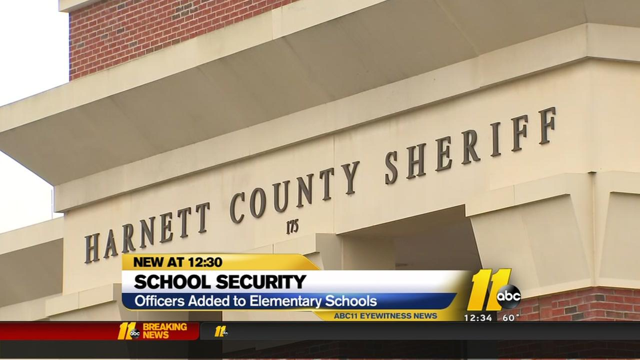Harnett County works to place officers in elementary schools