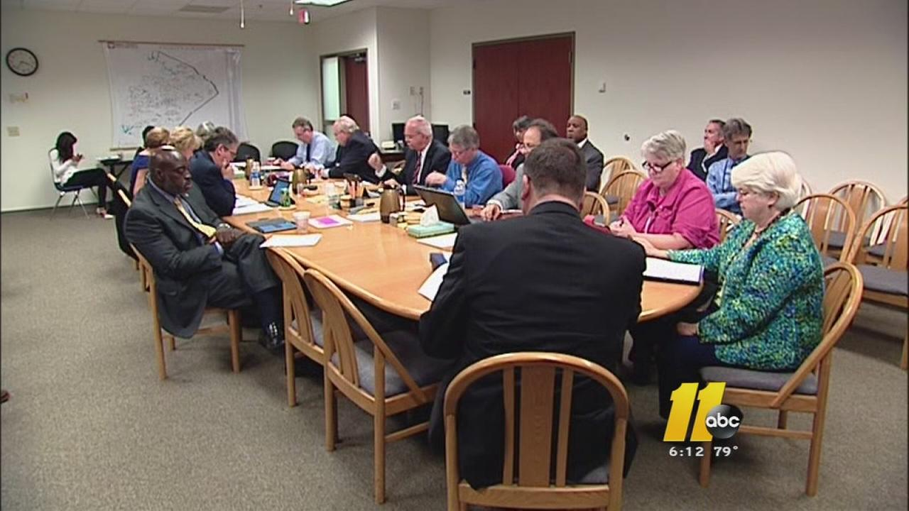 Wake County School Board meeting