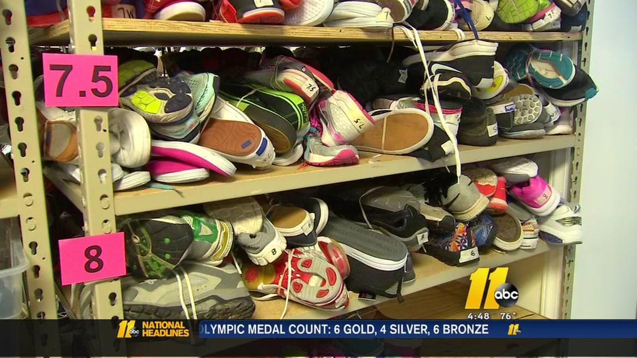 Shoe drive underway to help Raleigh kids