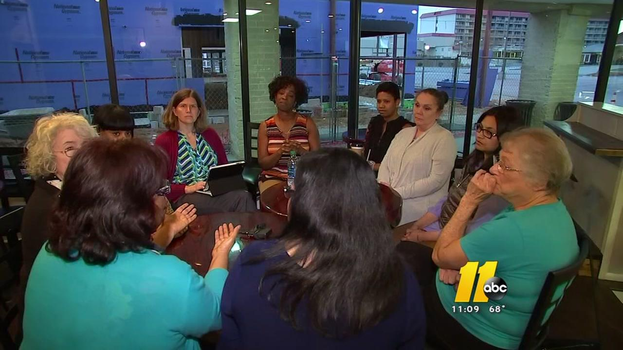 Mothers group meets in Fayetteville over gun laws