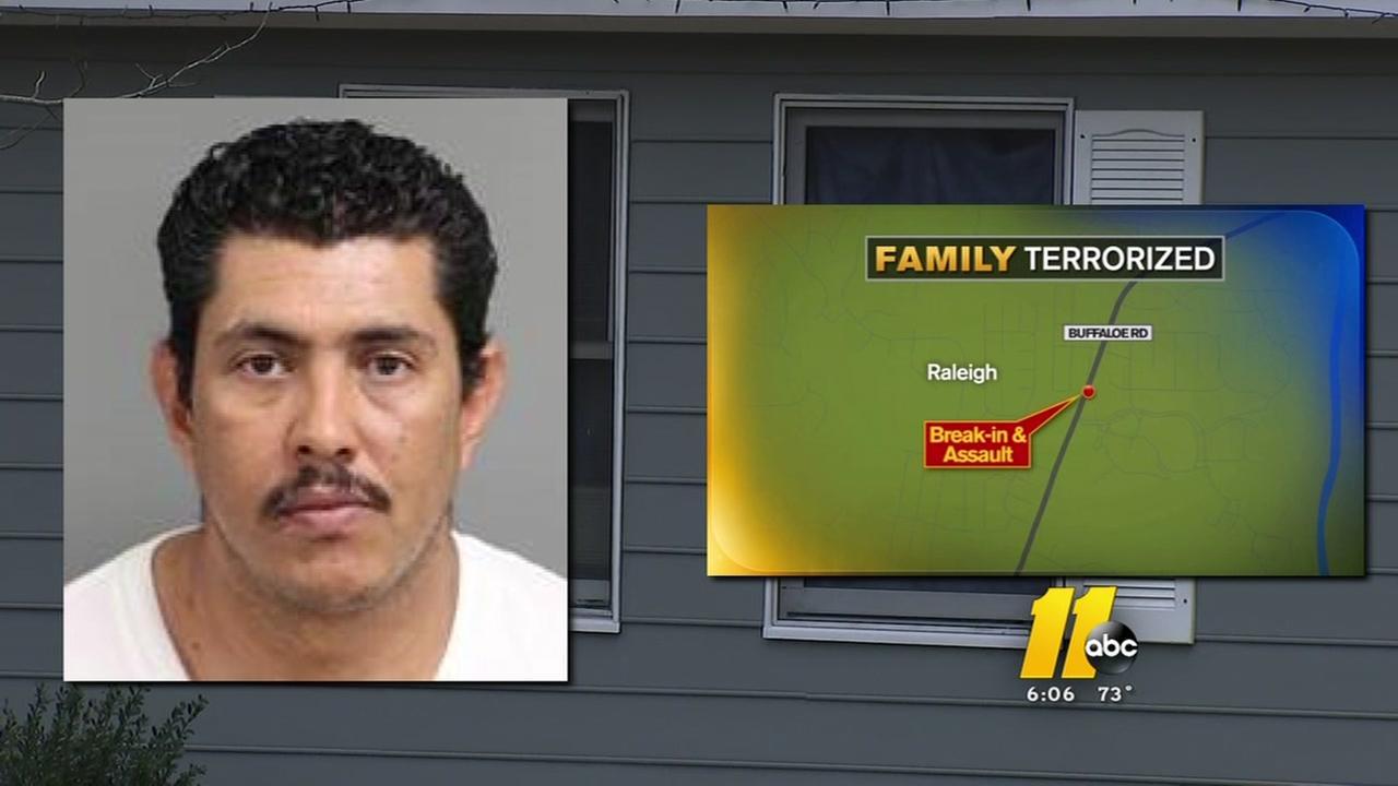 Man accused of terrorizing family, assaulting minor
