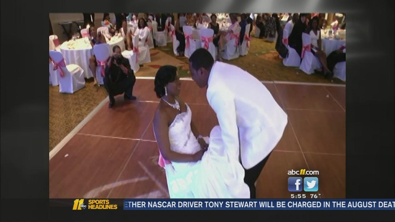 Newlywed finally gets wedding memories
