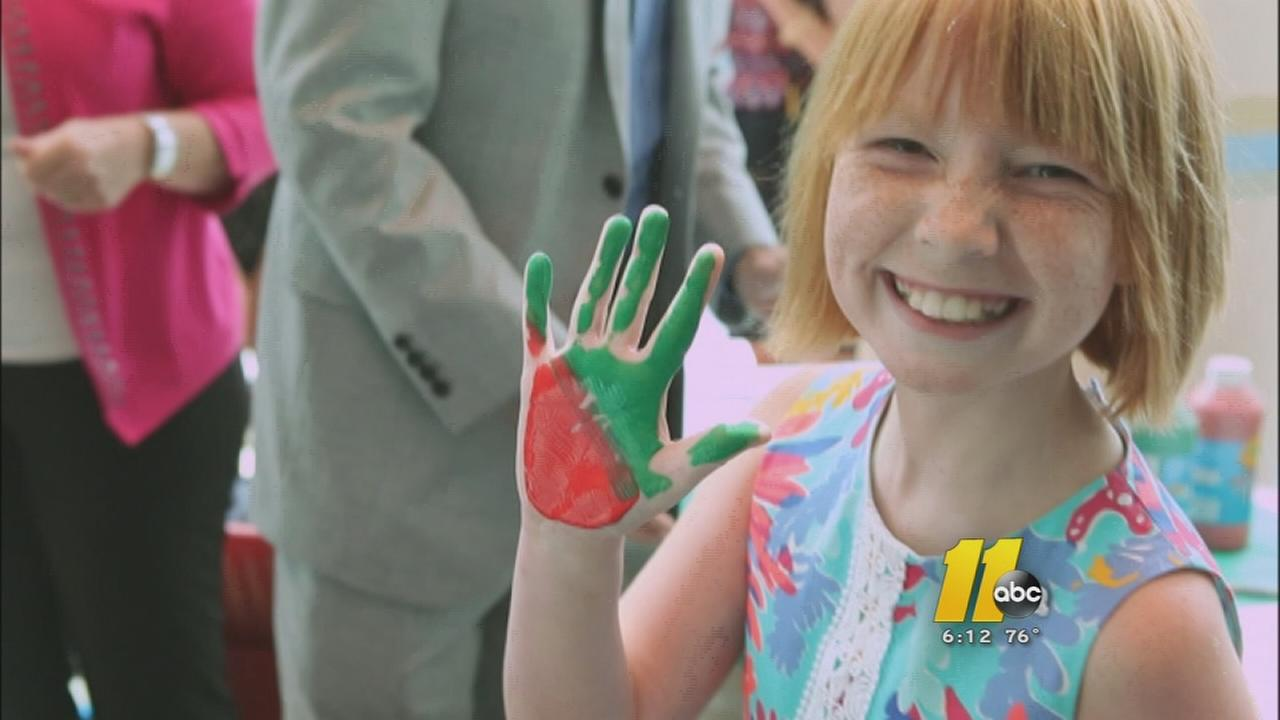 Wake County student spreads message of hope and survival