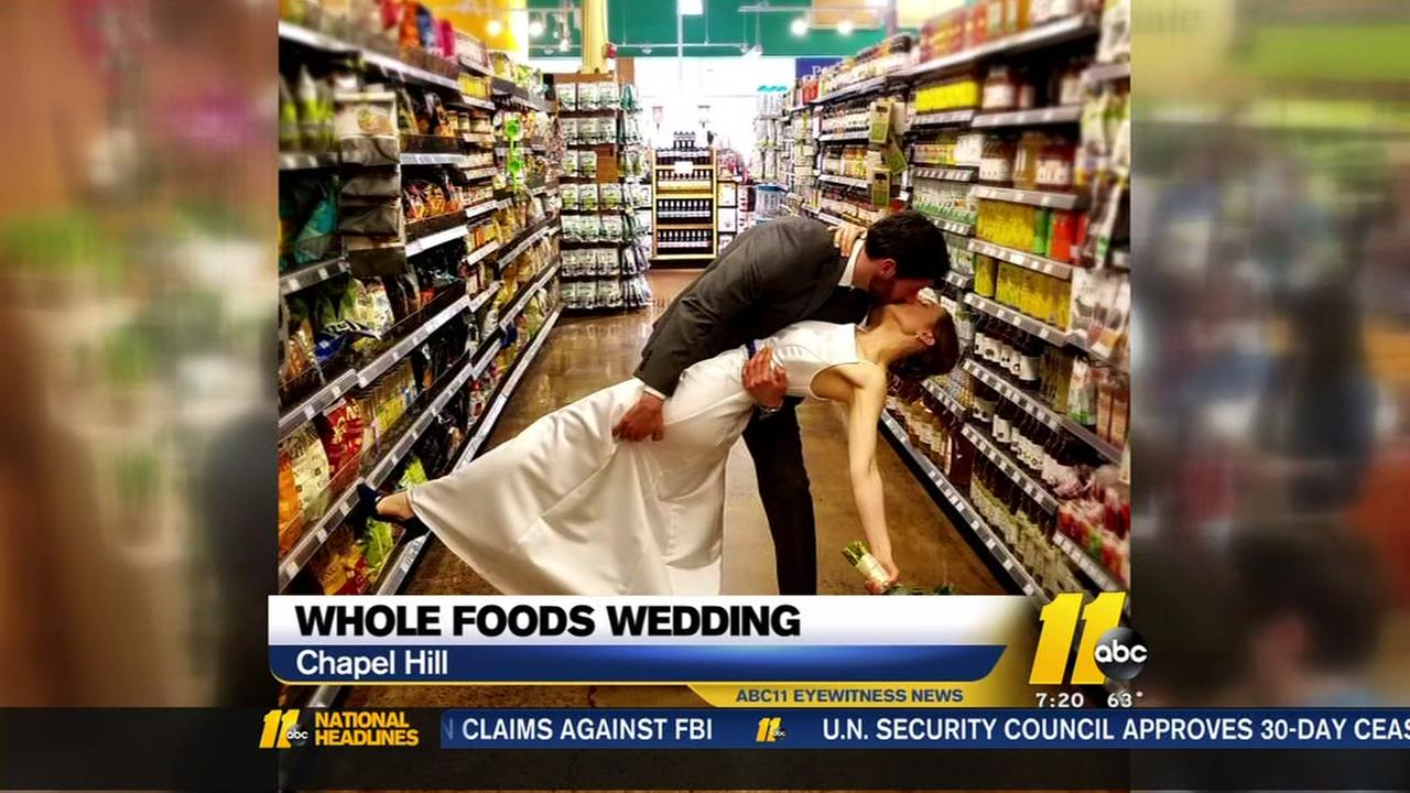 whole foods wedding