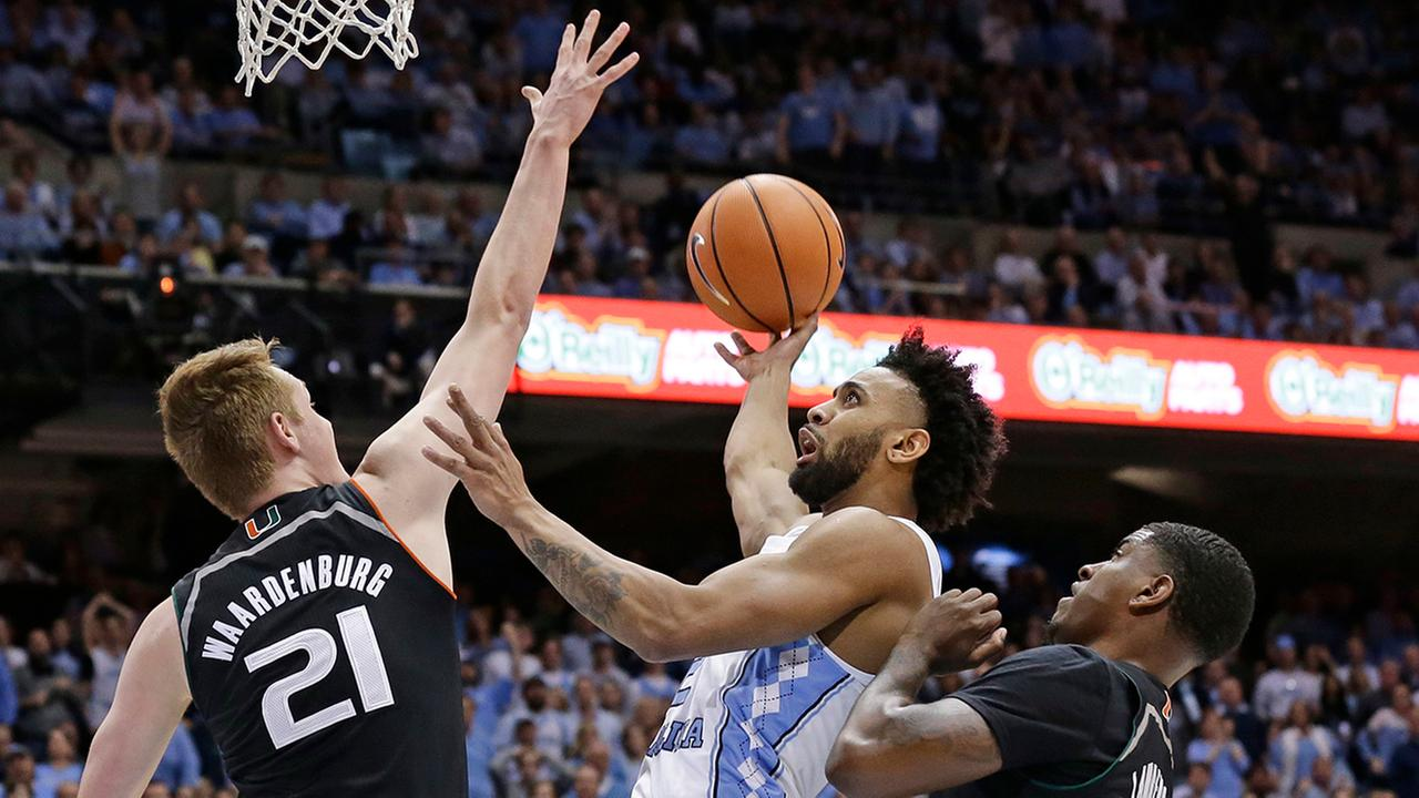 Joel Berry II did everything he could to rally UNC on senior night but his efforts were in vain against Miami on Tuesday night.