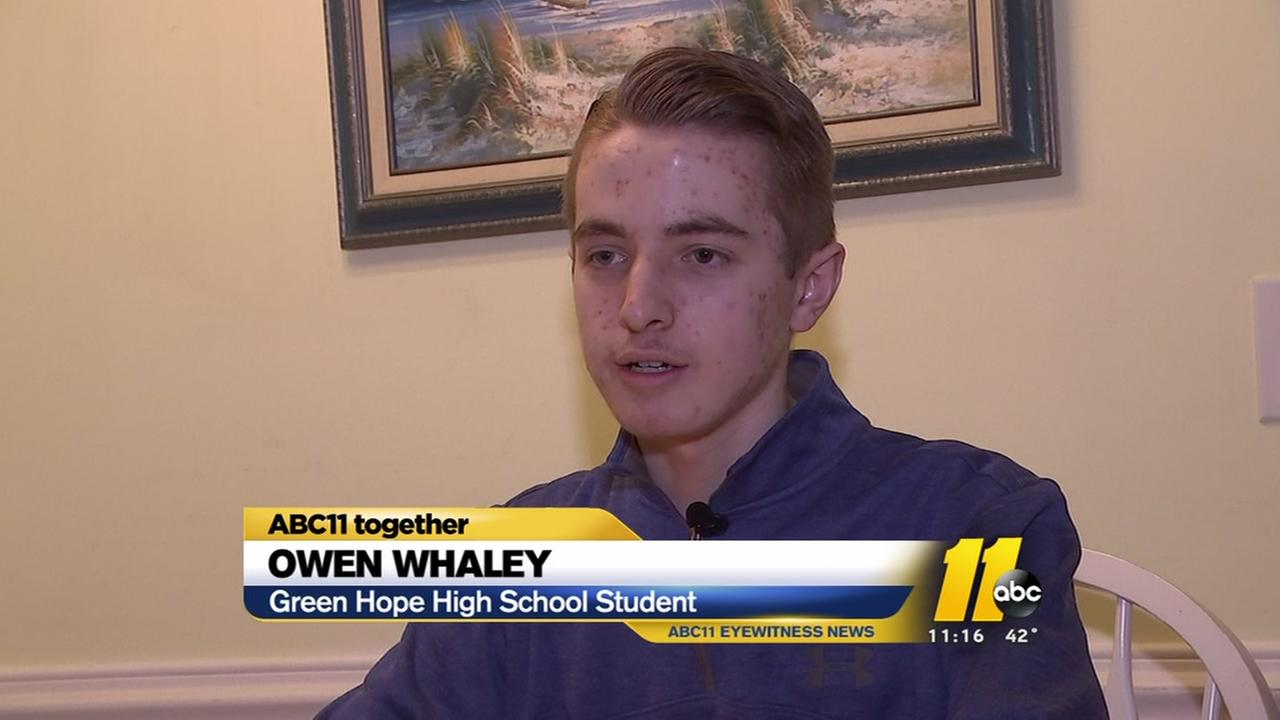 Cary high schooler determined to help the less-fortunate