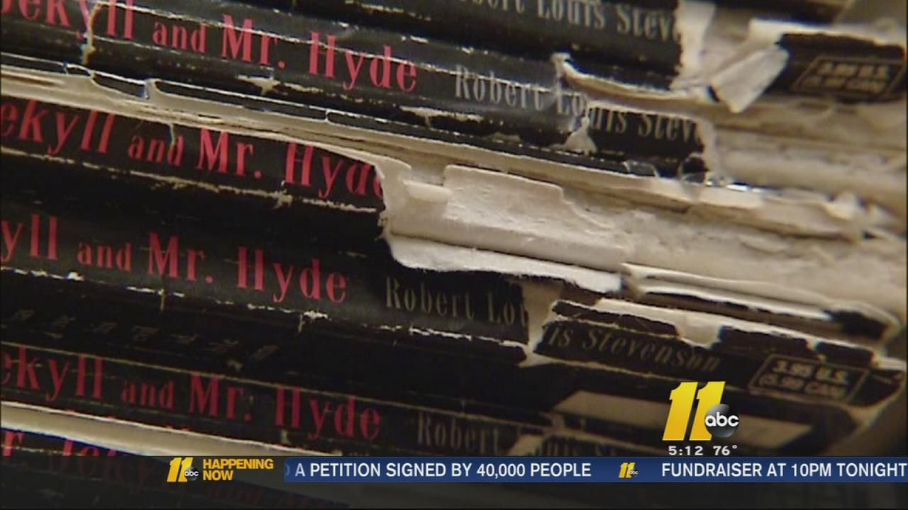 Wake County parents raise money for new textbooks