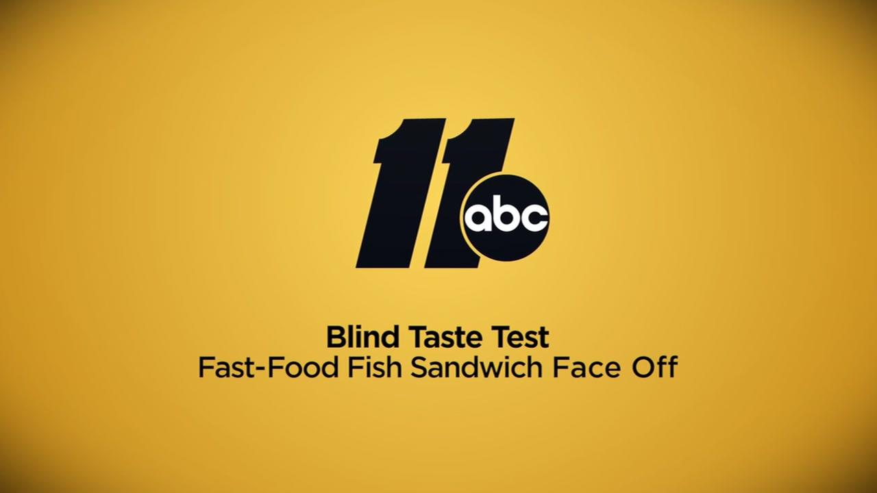 Fast-Food fish sandwich face-off