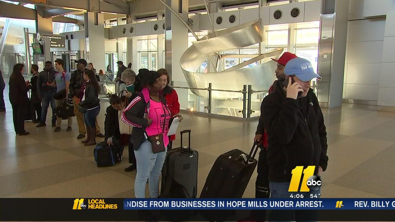 Noreaster, high winds cancel 29 flights at RDU