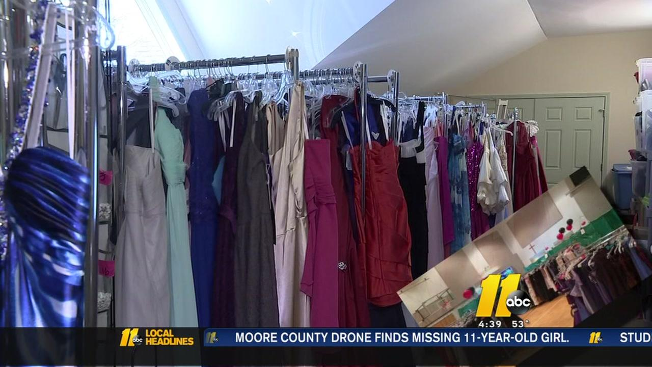 Apex United Methodist Church hosts Prom Shoppe with free dresses