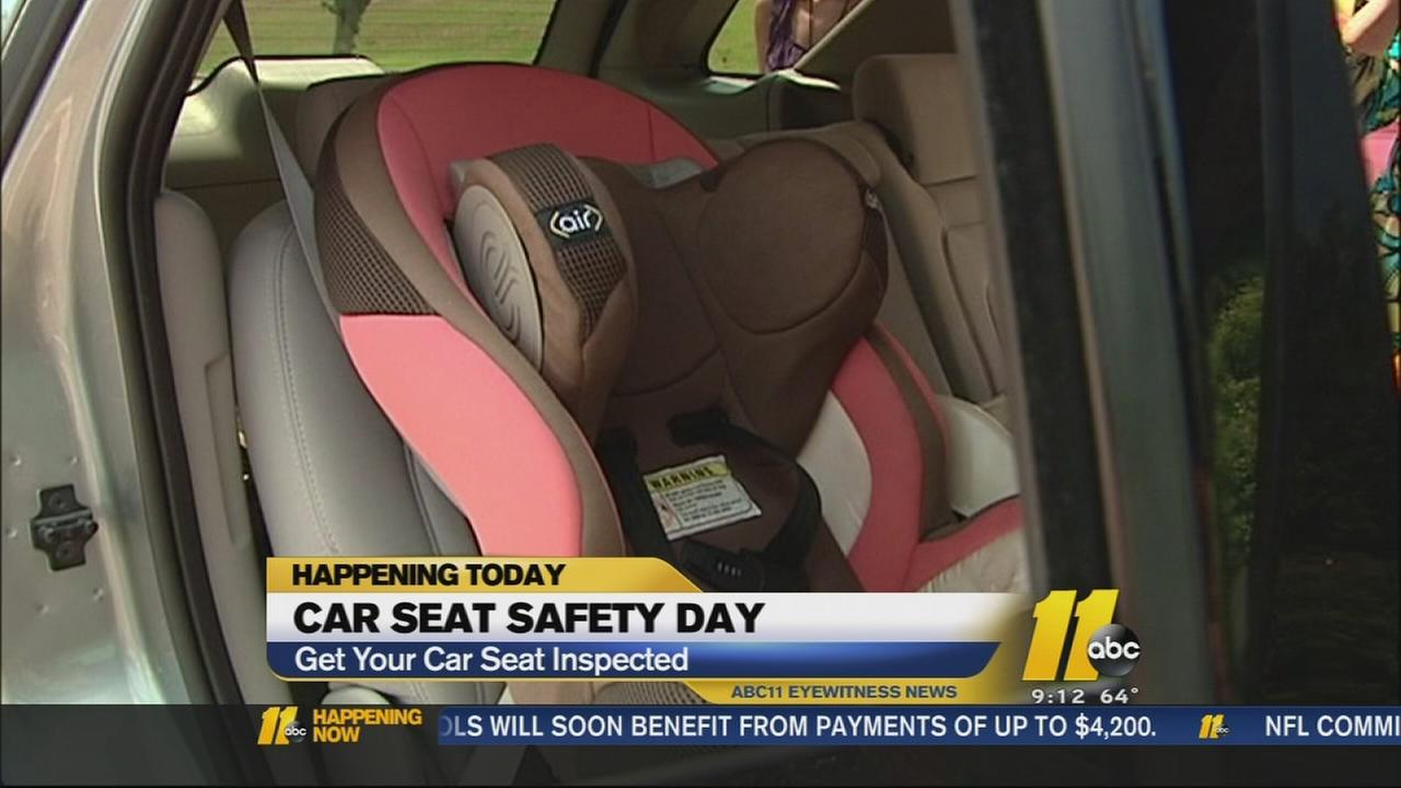 Car Seat Safety Day - Get your car seat inspected