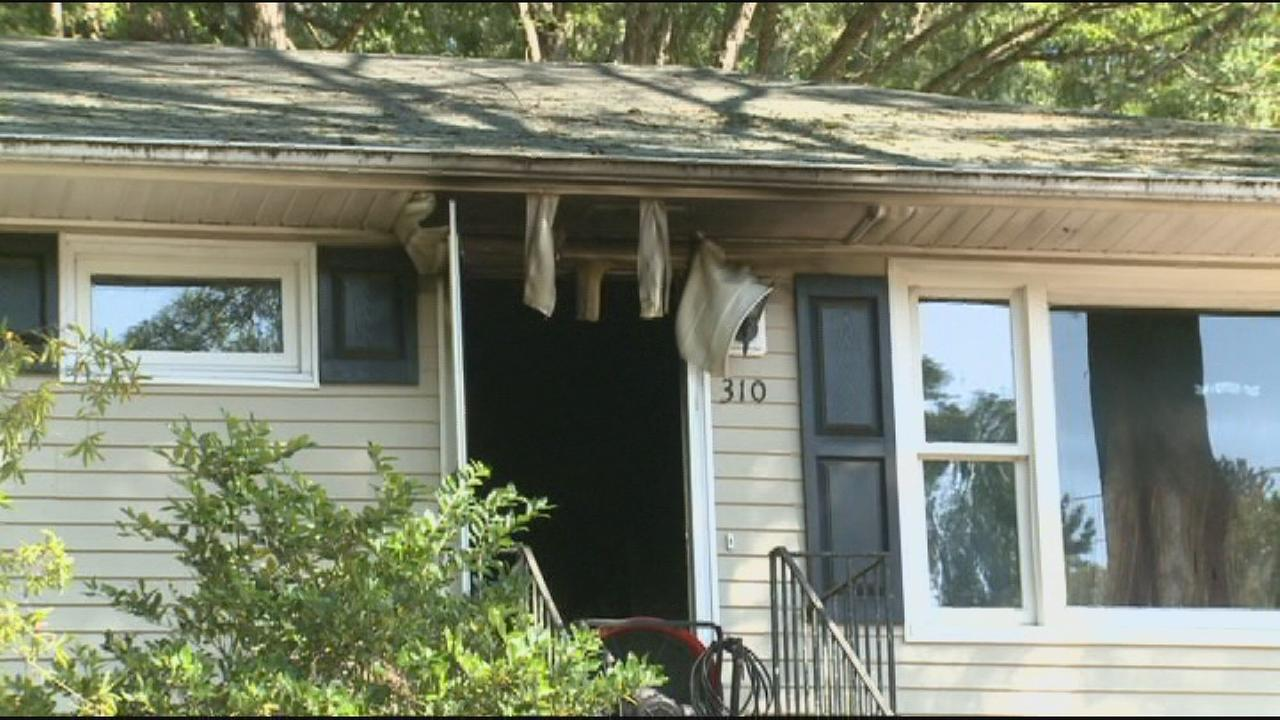 Briggs Avenue fire in Durham