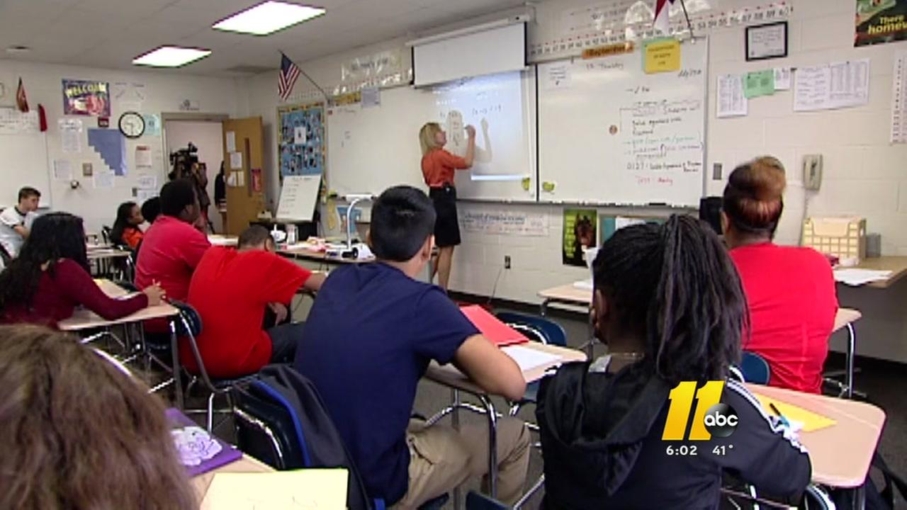NC teacher average pay tops $50,000 per year