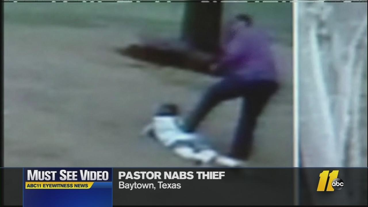 Pastor Benny Holmes held the woman at gunpoint